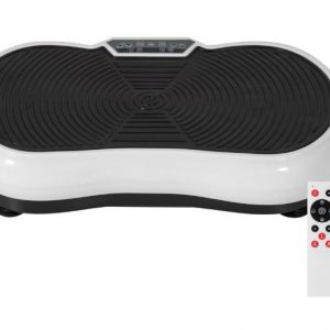 Full Body Vibration Platform w/ Remote Control and Resistance Bands, Best Choice Products